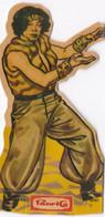 Panrico. Cromo Troquelado. La Frontera Azul 1978. Wu Sung. 17 - Zonder Classificatie