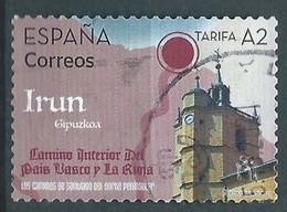 ESPAGNE SPANIEN SPAIN ESPAÑA 2021 ROADS OF SANTIAGO:BASQUE COUNTRY-LA RIOJA: IRUN USED ED 5479 MI 5520 YT 5220 - 2011-... Usati