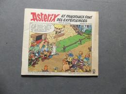 Astérix Et Panoramix Font Des Expériences  Offert Par Votre Station-service Elf - Sonstige Comic-Artikel