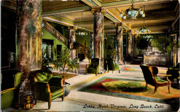 California Long Beach Hotel Virginia The Lobby - Long Beach