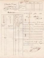 SAINT FLOUR CHARLES DOUETLETTRE AFFRANCHIE AVEC CACHET ANNEE 1842 ENVOYE A MR BALSAC A MURAT - Non Classificati