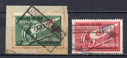 TR 202 + 204 Gestempeld LONDERZEEL WEST 1 + 2 - 1923-1941