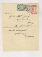 BOSNIA AND HERZEGOVINA SHS YUGOSLAVIA 1920  BIJELJINA Postal Stationery SLOVENIA - Bosnie-Herzegovine