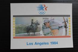 BL60 'Olympische Spelen LA 1984' - Ongetand - Côte: 60 Euro - Non Dentelés