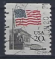 USA  1981  Flag  (o) Mi.1522  Ya C - Oblitérés
