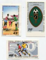 CAMEROUN N°512/514 NON DENTELES COUPE D'AFRIQUE DE FOOTBALL - Coupe D'Afrique Des Nations