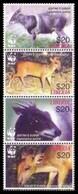 2005Liberia5100-5103stripWWF - Neufs