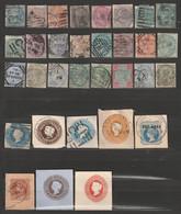 Indien Queen Victoria Sammlung Aus Französischem Alten Album Timbres - Poste - 1858-79 Compagnie Des Indes & Gouvernement De La Reine