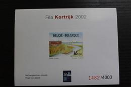NA Fila Kortrijk 2002 - Genummerd - Oplage: Slechts 4000 Exemplaren! - Projets Non Adoptés