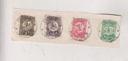 MACEDONIA TURKEY SKOPLJE Nice Stamps Used On Piece 15.IV 13 - Macédoine