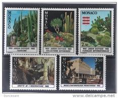 MONACO 1983 SERIE Du N°1360 A N° 1364 - 5 TP NEUFS** - Neufs