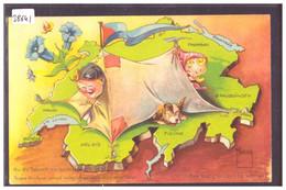 ENFANTS SUISSES - HUMOUR - PAR MINOUVIS - No 8 - TB - Andere Illustrators