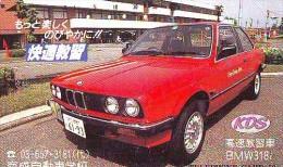 Télécarte JAPON * BMW * Phonecard JAPAN (235) Japon Auto Car VOITURE * - Cars