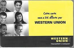 CARTE--PREPAYEE-SPARKLE-WESTERN UNION-Carte Offerte-Exp 31/12/2006-Gratté--TBE/RARE - Altre Schede Prepagate