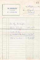 LANVOLLON M GOURIOU CREPERIE ANNEE 1968 - Non Classificati