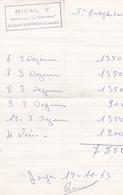 SAINT QUAY PORTRIEUX RIVAL Y RESTAURANT LA BIENVENUE ANNEE 1963 - Non Classificati