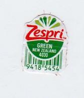Zespri Green New Zealand Frutta  Etichetta  Usata - Fruits & Vegetables