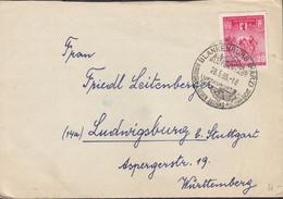 DDR 471 EF, Auf Brief Mit Sonderstempel: Blankenburg Blütenstadt... 28.5.1955 - Briefe U. Dokumente