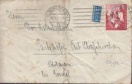BRD 154 EF, Auf Briefstück Mit Stempel: München 9.11.1952 - Briefe U. Dokumente