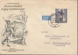 BERLIN 120 EF, Auf Brief Mit Stempel: Eislingen 13.8.1954 - Briefe U. Dokumente