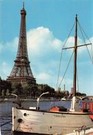 PARIS - LA TOUR EIFFEL ET LA SEINE - Eiffelturm