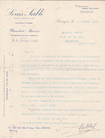 QUIMPER LOUIS SABLE BONNETERIE MERCERIE PASSEMENTERIES RUBANS ANNEE 1934 - Non Classificati
