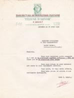 QUIMPER P BREST FILEUSE D ARVOR  MANUFACTURE DE BONNETERIE FANTAISIE ANNEE 1958 - Non Classificati