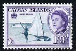 Cayman Islands 1962-64 Water Sports 1s9d Unmounted Mint, SG 176 - Cayman Islands