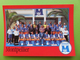 Panini 1997 - Foot 97 - Image N° 197 - Equipe - Montpellier-Hérault Sports Club - Edizione Francese