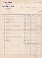 PORT LAUNAY DERRIEN ET FILS EPICERIE EN GROS ANNEE 1957 - Non Classificati