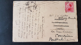Alger - Used In Barcelona - Sent To Comrie Perthshire Scotland - Used Stamps