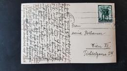 Otztal Tirol - Used In Innsbruck - Sent To Wien - Ein Fuhrer 6 Rpf Briefmarke 1938 - Gebruikt