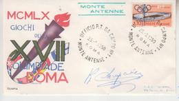 Robert Charpentier († 1966) Cycliste Français - 3x Gold Medal At The 1936 Summer Olympics - Autograph On FDC, Autographe - Autographes