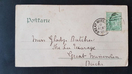 Old Card - Sent To Great Missenden 1905 - Used Stamps