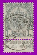 """COB 53 - Belle Oblitération """"TREMBLEUR"""" - 1893-1900 Fine Barbe"""