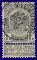"""COB 53 - Belle Oblitération """"VILVORDE"""" - 1893-1900 Fine Barbe"""