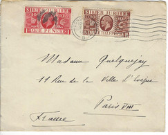 Enveloppe GRANDE BRETAGNE N° 202, 203 Y & T - Covers & Documents