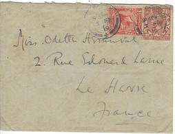 Enveloppe GRANDE BRETAGNE N° 140, 141 Y & T - Covers & Documents