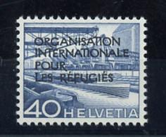 1950, Schweiz Internationale Flüchtlingsorganisation OIR, 5, ** - Dienstpost