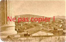 2 PETITES PHOTOS FRANÇAISES - PANORAMA ET POILU A KOZANI Κοζάνη PRES DE PTOLEMAIDA - GRECE  GUERRE 1914 1918 - 1914-18