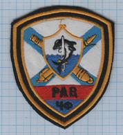 RUSSIA / Patch Abzeichen Parche Ecusson / Navy Black Sea Fleet. Artillery. Dolphin. - Ecussons Tissu