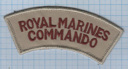 United Kingdom / Patch Abzeichen Parche Ecusson / Armed Forces. Navy. Fleet. Royal Marines Commando. - Ecussons Tissu