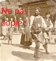 PETITE PHOTO FRANÇAISE - GRECS A KOZANI Κοζάνη PRES DE PTOLEMAIDA - GRECE  GUERRE 1914 1918 - 1914-18