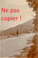 PHOTO FRANÇAISE - LA ROUTE DE VERRIA A KOZANI Κοζάνη PRES DE PTOLEMAIDA - GRECE  GUERRE 1914 1918 - 1914-18