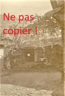 PHOTO FRANÇAISE - HABITAT A FLORINA Φλώρινα PRES DE KASTORIA Καστοριά - GRECE  GUERRE 1914 1918 - 1914-18