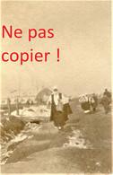 PHOTO FRANÇAISE - CIVILS SUR LA ROUTE DE FLORINA Φλώρινα A MONASTIR PRES DE KASTORIA Καστοριά - GRECE  GUERRE 1914 1918 - 1914-18