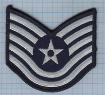USA / Patch Abzeichen Parche Ecusson / United States Military Air Force Insignia, Rank, Staff Sergeant - Ecussons Tissu