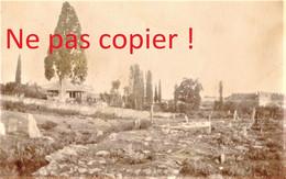 PETITE PHOTO FRANÇAISE - VUE SUR SALONIQUE - THESSALONIQUE Θεσσαλονίκη - GRECE  GUERRE 1914 1918 - 1914-18