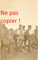 PETITE PHOTO FRANÇAISE - POILUS SUR LE CROISEUR L'ENTRECASTREAUX SALONIQUE - THESSALONIQUE Θεσσαλονίκη - GRECE 1914 1918 - 1914-18
