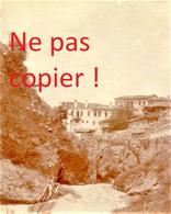 PETITE PHOTO FRANÇAISE - UNE VUE DE SERVIA Σέρβια PRES DE POLYRRACHO Πολύρραχο - GRECE 1914 1918 - 1914-18